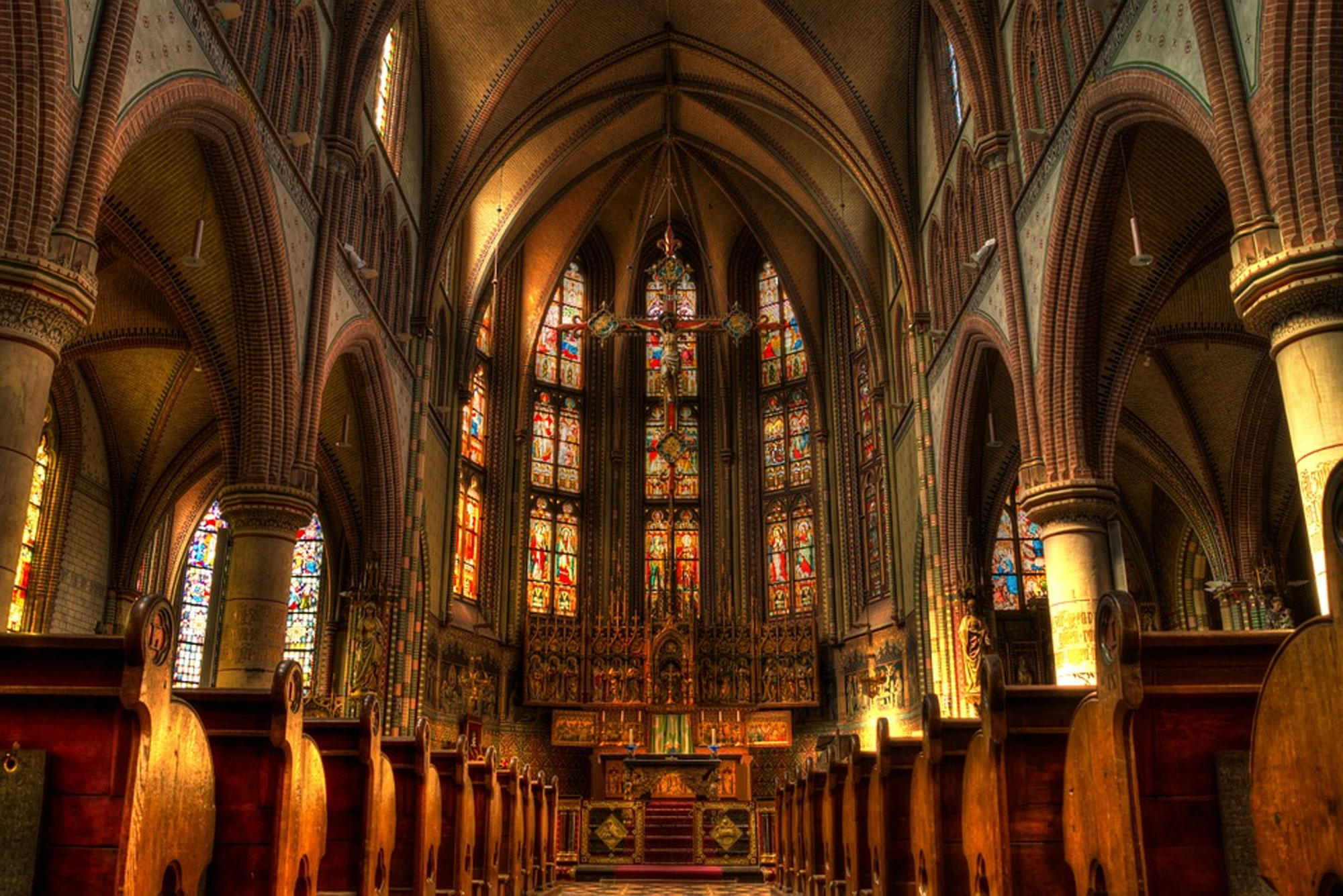 Beautiful church Interior