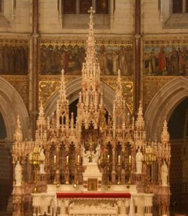 The altar in Maynooth college church