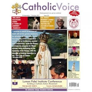 Catholic Voice newspaper Cover