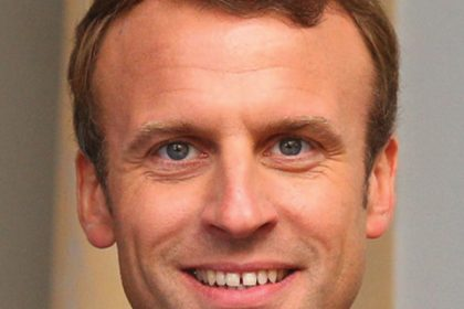 Image of French President Emmmanuel Macron