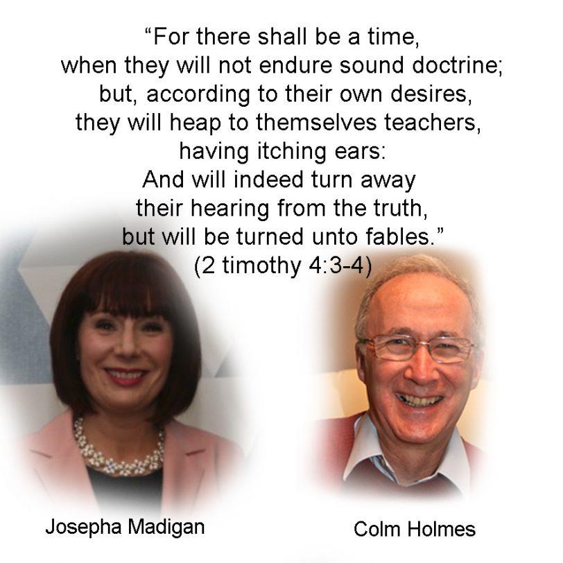 Image of Josepha Madigan & Colm Holmes