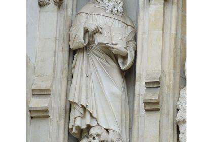 Statue of St Maximilian Kolbe